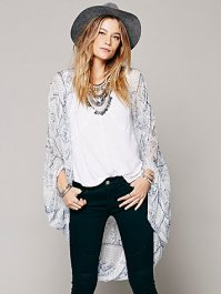 Free People Simple Love Kimono $38  (this one is currently residing in my closet)