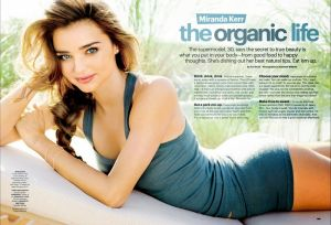 Quick and easy nutrition tips from Miranda in December 2013 issue of SELF magazine