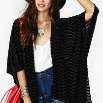 Zig Zag Velvet Kimono $58 http://wl.nastygal.com/product/zig-zag-velvet-kimono/_/searchString/kimono