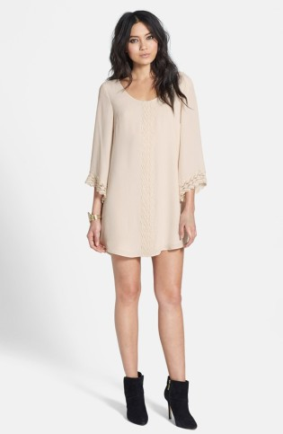 ASTR- Lace Trim Shift Dress $58 shop.nordstrom.com/